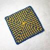 ロシア式美しい四角形の編み方