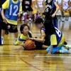 バスケ・ミニバス写真館87 一眼レフで撮影したバスケットボール試合の写真