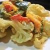カリフラワーとパプリカのアイヨリ風サラダ
