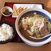 金沢市入江「8番らーめん入江店」でなんでやろな野菜味噌らーめん