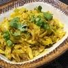【インド料理レシピ】キャベツのパンジャブ風炒め