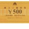 モスフードサービスから株主優待券が届いたのである