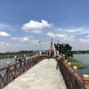 週末はラマ9公園の北に位置するノンボン池公園で子連れサイクリング♪