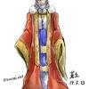 iPadでイラストメイキング。小説ただひと キャラクターデザイン国王ユトレヒト
