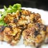 魚焼きグリルで焼く、鶏レバーの焼きカツ