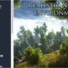 Realistic Nature Environment リアルな「木々、茂み、花、岩、地形テクスチャ」素材で広大な森や背景を作る大自然3Dモデル
