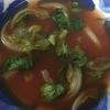 やけっぱちのレタススープ