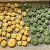 【子どもとクッキング】緑黄色野菜の摂取に★2歳児とお野菜クッキーづくり★