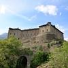 アオスタの古城とデアゴスティーニ