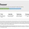 最適なマッパーとパラメータを決定するのを支援する Teaser