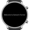 Xamarin.Formsでスマートウォッチアプリ開発