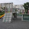 日吉本町地域ケアプラザの裏の公園(複合遊具あり/日吉本町4丁目)