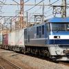 新塗装化したEF210-14を初撮影する 貨物列車撮影 2/29