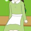 山小屋の少女5