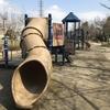 稲城市「大丸公園」!子供が走り回れる広大なスペースと遊具が一杯!