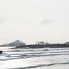 梅雨の晴れ間の千里浜 α7S x SEL135F18GM(FE 135mm F1.8 GM)