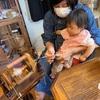 羊クラブの糸紡ぎ。