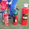 H30.11.06 持ち運び消火器訓練を行いました。