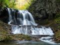紅葉シーズンの平和の滝に行ってきた