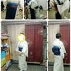 生徒さん~夏着物&夏帯でレッスン☆夏着物の気を付ける点☆