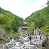 木曽川水系 川上川 堰堤の巻きが核心の木曽桧の谷 2011.09.11
