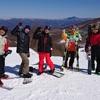 髪人スキー部ゲレンデトレーニング