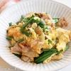 この料理は面倒くさいときに絶対助けてくれるのでぜひ覚えておいてください!調味料1つでご飯が進む!『豚ニラ玉豆腐』の作り方