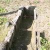 台所山古墳の箱式石棺(群馬県伊勢崎市)