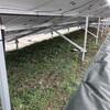 野立太陽光2基目~防草シートのテープ貼り&グランドカバーの種まきをしてきた