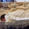 産前産後に編んだもの 作ったもの