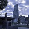 早朝の散歩の情景、新世界と天王寺界隈と阪和商店街。