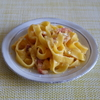 39冊目『おうちで食べようクイック麺』から6回めはあっさりカルボナーラ