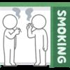 喫煙所と相場振り返り