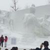 【2017】プロジェクションマッピングレポ!①【札幌雪まつり】