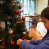 毎年恒例のクリスマスツリーの飾り付け+少し科学のお勉強