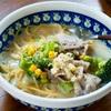 生姜のスープパスタ