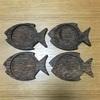 木製コースターをオリーブオイルで簡単お手入れ