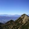 晩秋の権現岳(2715m)