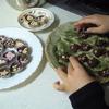 小学2年の娘がバレンタインチョコ製作に初挑戦
