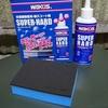 樹脂パーツ(プラスチック)が劣化し色あせ艶、光沢が無くなった!そんな時は樹脂用コート剤「スーパーハード」