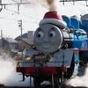 大井川鐡道のトーマスクリスマス運行を見に行った