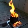 焚火台!?威神火(タケカミ)ストーブ ウッドガスストーブ仕様 その燃焼効率は・・・