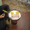 【冬キャンプ】Youtube動画第2弾! キャンプでベーコンエッグを作るだけの動画(笑)