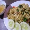 タイ料理の定番 グリーンカレーは、チャーハンにすると旨いのだ