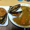 【今日の食卓】最近カレーが出てこないのでリクエスト。業務用ジャワカレー。以前に働いていたジャワ島にはカレーなんてないが、ココナッツミルクを使っているからか。でも言われなければわからない程度。茄子と南瓜を炒めたのも乗っている。 Japanese curry and rice. #食探三昧