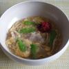 51冊目『主役スープ150』から6回めは豚肉ときのこの梅肉スープ