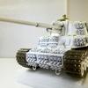 五式中戦車(乙二型/チリオツニ)改造製作の前半(1/35)と越の国戦記(1945年8月)前編