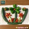森バナ農園2021㉚ 『ベジタブル・アート & 収穫(8/2·4~7)』