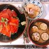 暑くてやる気も出ない日の鉄火サーモン丼。