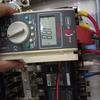冷凍機の電流を測った